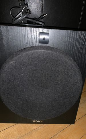 Subwoofer: Sony SA-W2500 for Sale in Saint Paul, MN