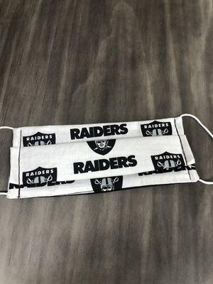Raiders 😷 mask for Sale in Kansas City, KS