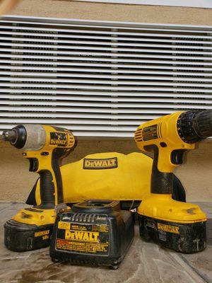 Dewalt 18v drill set for Sale in San Jose, CA