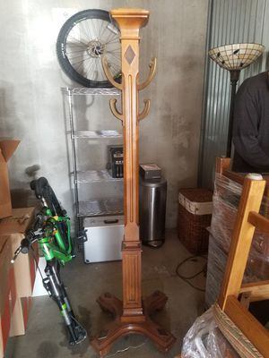 Hall tree and and Side Table and Glass Top Dining Yable for Sale in Salt Lake City, UT
