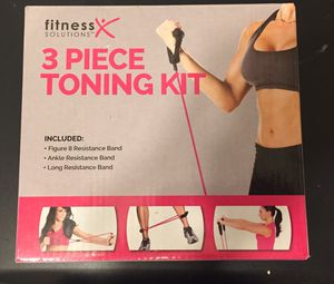 3 Piece Resistance Toning Band Kit for Sale in Portland, OR