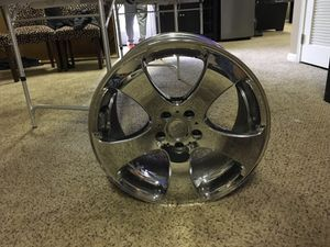 Brand new Chrome rims for Sale in Chantilly, VA