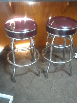 2 bar stools for Sale in Tacoma, WA