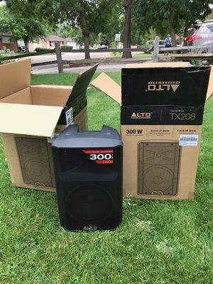 "Alto Professional 8"" Speakers NEW for Sale in Wheat Ridge, CO"