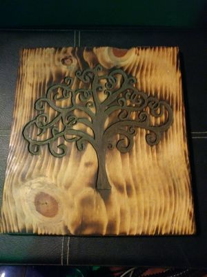 """""""Tree Of Life"""" Handmade Wooden Plaque for Sale in Roseville, MI"""