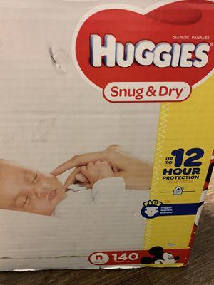Huggies Snug and Dry for NEWBORNS for Sale in Burbank, CA