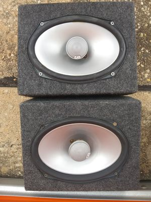 3 Infinity 6x9 car audio speakers for Sale in Austin, TX