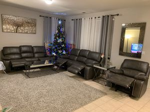 Gorgeous Modern couch with USB. Fully automated. Moving Sale for Sale in Byron, CA