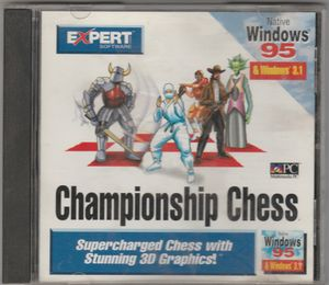 Championship Chess by Expert Software for WIN 95 / 3.1 1997 for Sale in Stockton, CA