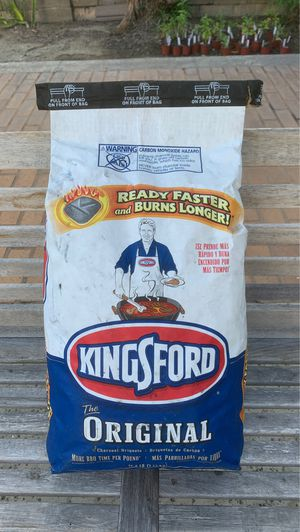 Kingsford Original Charcoal Briquets 16.6LB for Sale in Fountain Valley, CA