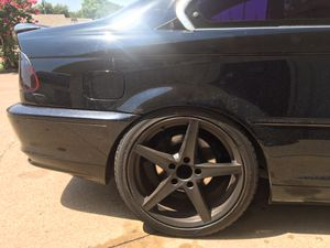 """18"""" black racing rims Asking Only $380 OBO for Sale in Dallas, TX"""