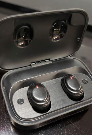 True Wireless Earbuds Bluetooth 5.0 Wireless Headphones 2000mAh Charging Case, IPX7 Waterproof TWS Stereo Headphones in-Ear Built-in Mic for Sale in Phoenix, AZ