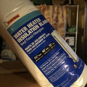 Water Heater Installation Blanket for Sale in Stockton, CA