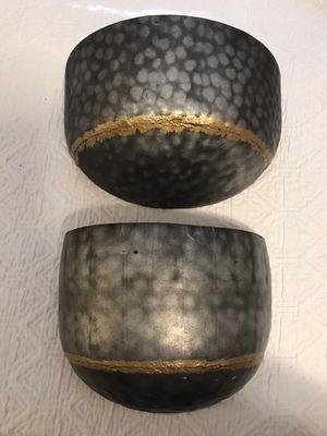Set of two wall planters for Sale in Marietta, GA