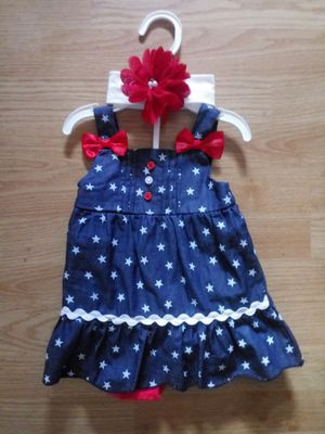 Baby girl outfit 3 pieces 6-9 mos for Sale in Mulberry, FL