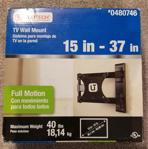 TV Full Motion wall mount NEW for Sale in Laurel, MD