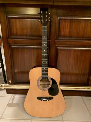 Esteban Acoustic Guitar w/Gig Bag for Sale in Lombard, IL