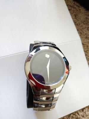 Movado steel men's watch for Sale in Royal Oak, MI