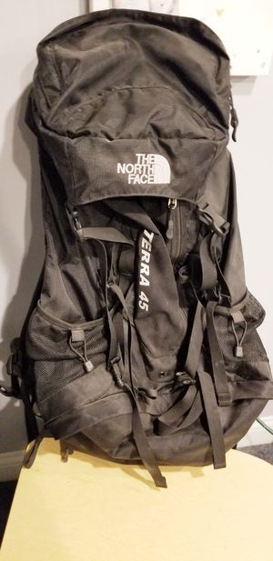 Northface Terra 45 Hiking Backpack for Sale in Wadsworth, OH