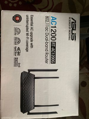Asus Dual band router for Sale in Tampa, FL