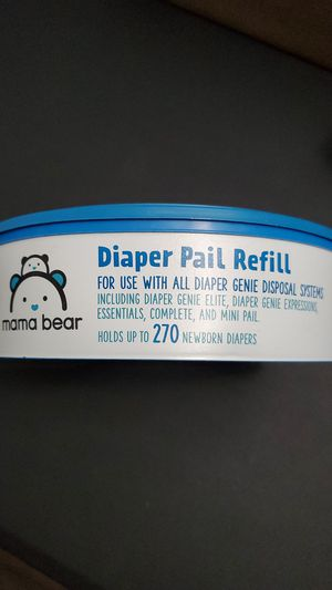 Diaper genie refill mama bear brand for Sale in Tigard, OR