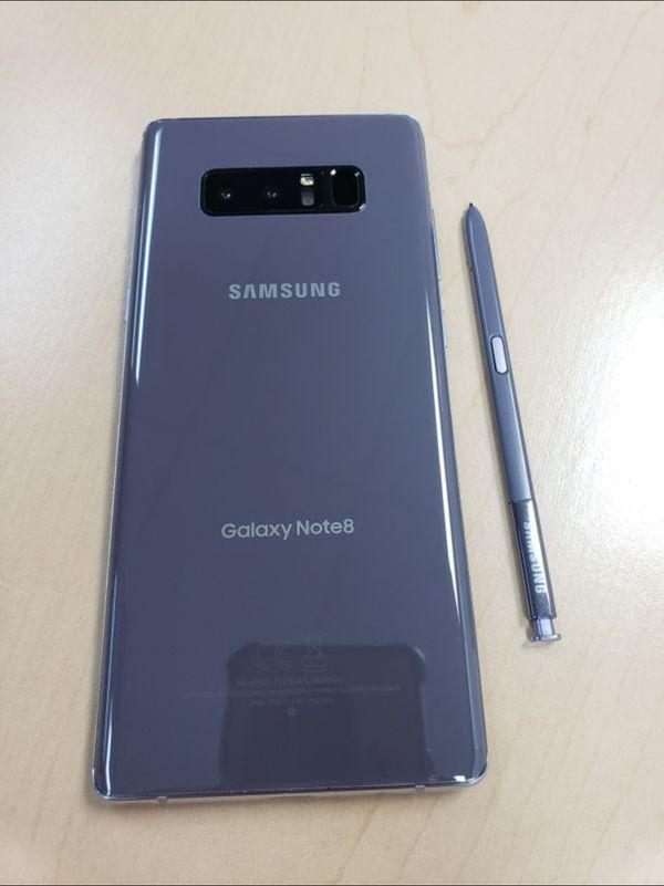 "Samsung Galaxy Note 8 64GB FACTORY UNLOCKED"" Like new with warranty"