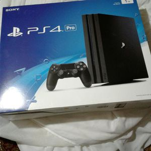 PS4 Pro! Brand new (opened) for Sale in San Diego, CA