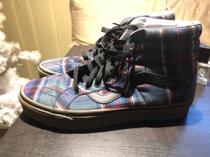 plad vans size 8 for Sale in East Meadow, NY