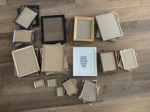 #43 PICTURE FRAMES - LARGE, MEDIUM, SMALL SIZES for Sale in San Diego, CA
