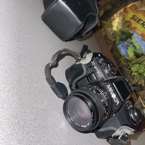 Minolta X570 Film Camera 48mm MD Lens & Case for Sale in San Tan Valley, AZ