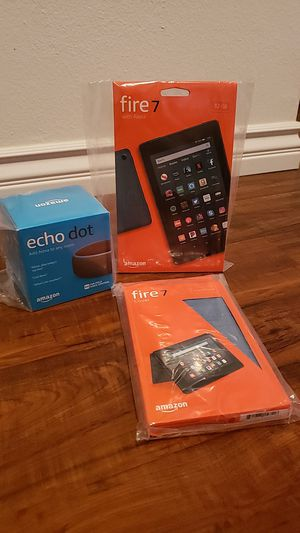 Fire 7 Tablet Combo with Echo Dot for Sale in Diamond Bar, CA