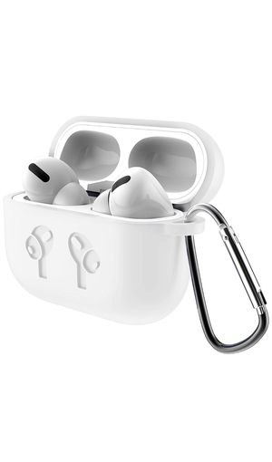 Apple AirPods Pro Premium White Silicone Case for Sale in Ontario, CA