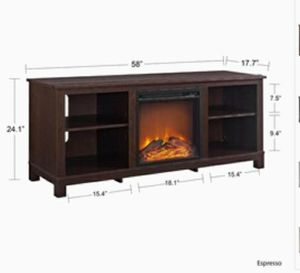 Ameriwood Home Edgewood Fireplace TV Stand for Sale in Las Vegas, NV