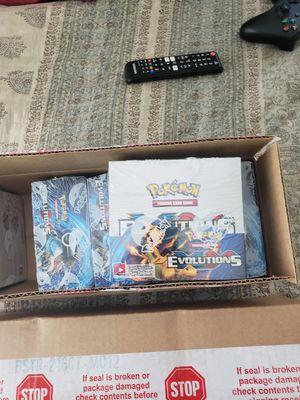pokemon evolutions booster box sealed for Sale in Garden Grove, CA
