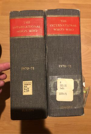 The International Who's Who directory for Sale in Grand Rapids, MI
