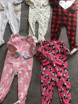 2T Mixed Brand Fleece Pajamas for Sale in Hermosa Beach,  CA