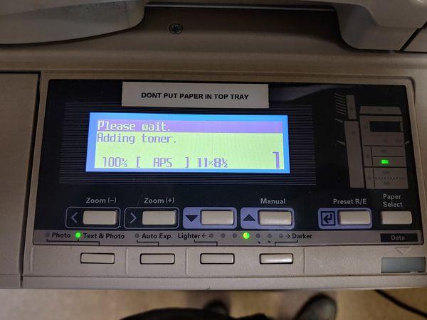 Mita Pointsource Printer