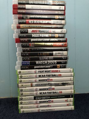 PS3 Xbox game lot for Sale in Ridgefield Park, NJ