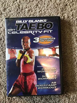 Billy Blanks Taebo DVD for Sale in Seattle, WA