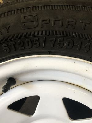 Trailer Tire Rims for Sale in Bradenton, FL