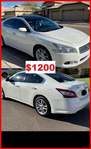 Price$1200 NissanMAxima2009 for Sale in Washington, DC