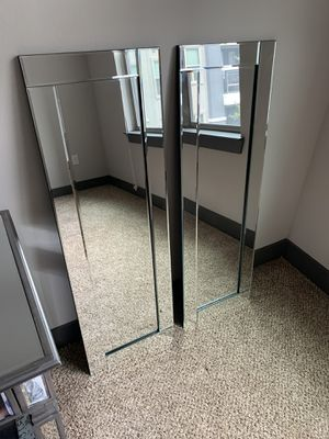 Hanging Wall Mirrors (Pair) for Sale in Dallas, TX