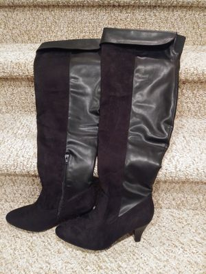 New Women's Size 11 Wide Thigh Boots Black [Retail $140] for Sale in Woodbridge, VA