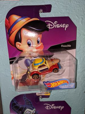 Disney HotWheels characters Pinocchio for Sale in Pasadena, TX