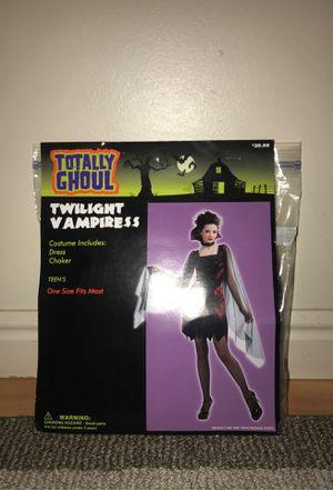 Twilight Vampiress Teens Costume -One Size Fits Most for Sale in West Jordan, UT