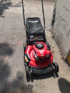 Troy bilt push lawn mower missing filter and cover works perfect for Sale in Houston, TX