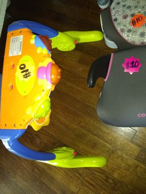 Baby light up toy- booster seat for ages 3 and up for Sale in San Antonio, TX