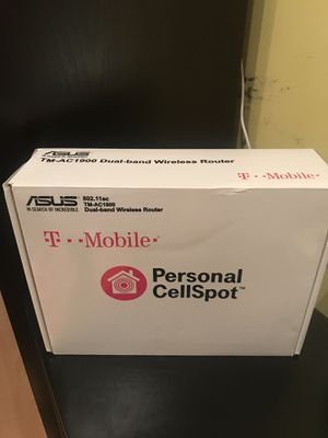 T-Mobile (AC-1900) By ASUS Wireless-AC1900 Dual-Band Gigabit Router. for Sale in Brooklyn, NY