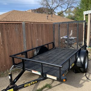 Trailer 5x8 Con Título Exelentes Condisiones for Sale in Irving, TX