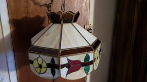 Stain Glass Hanging Plug In Lamp for Sale in West Covina, CA